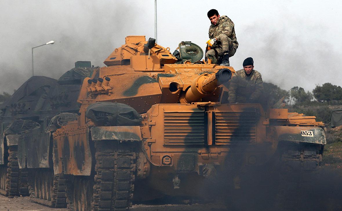 Турецкие военнослужащие