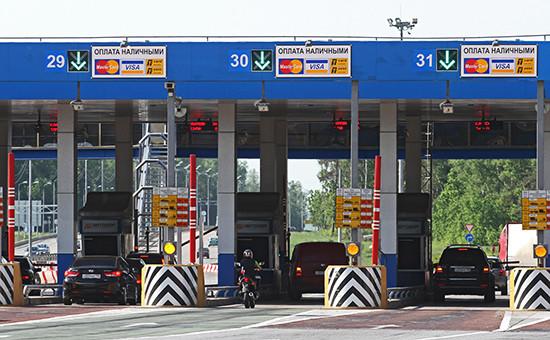 Пункт взимания платы на 71-м километре автомобильной дороги М-4 «Дон»