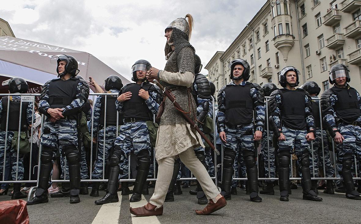 Протестная акция вМоскве. 12 июня 2017 года