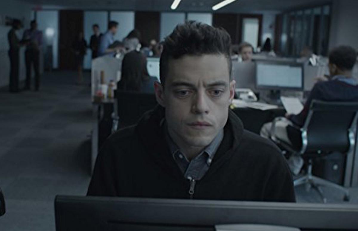 Кадр из сериала «Мистер Робот»