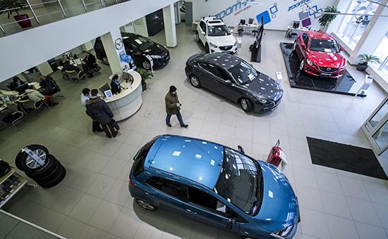Продажа автомобилей Mazda в одном из дилерских центров Москвы