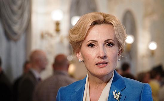 Зампред Госдумы Ирина Яровая