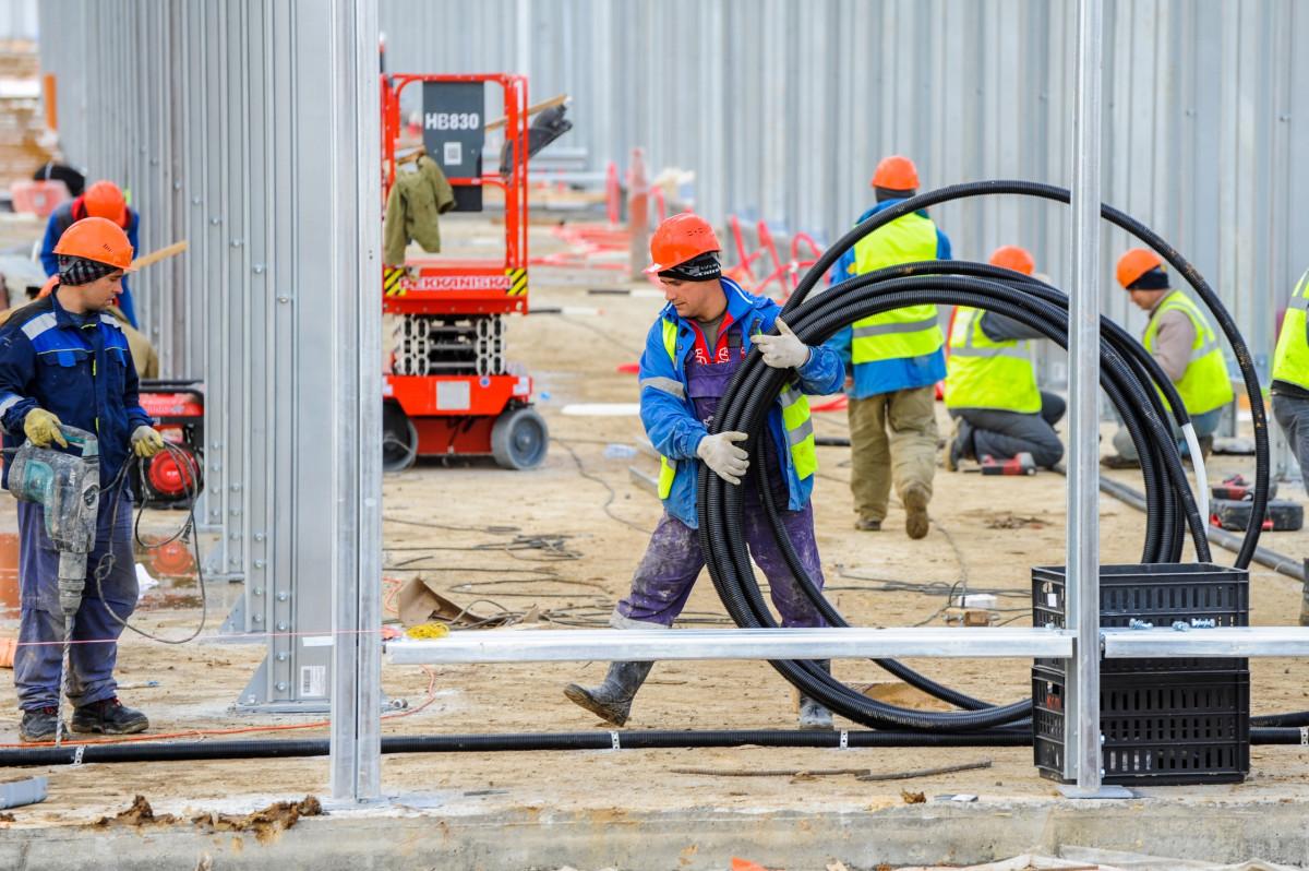 Самыми востребованными в строительной отрасли остаются каменщики