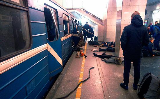 Фото: ДТП и ЧП Санкт-Петербург / AP