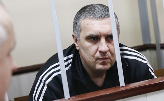 Украинец Евгений Панов вовремя рассмотрения ходатайства опродлении ареста вЛефортовском суде