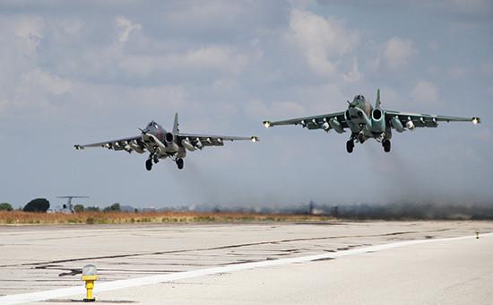 Российская боевая авиация наавиабазе «Хмеймим» вСирии