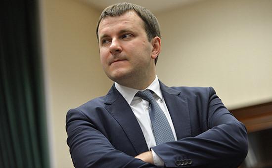 Замминистра финансов Максим Орешкин