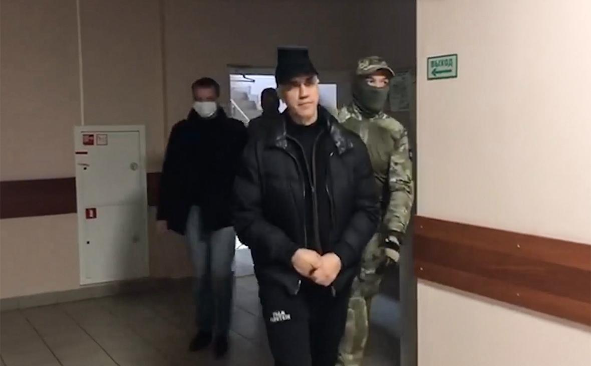 Избрание меры пресечения Анатолию Быкову