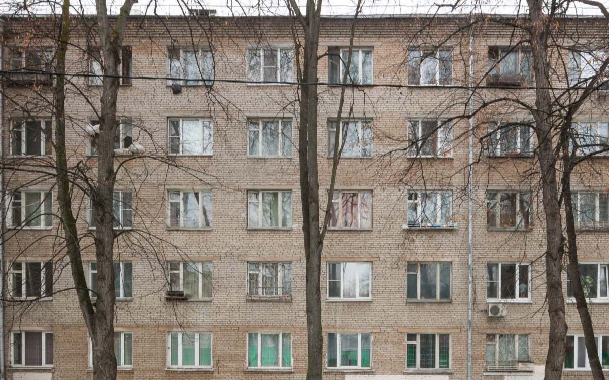 Дом № 9, корпус 5 по бульвару Генерала Карбышева в Москве
