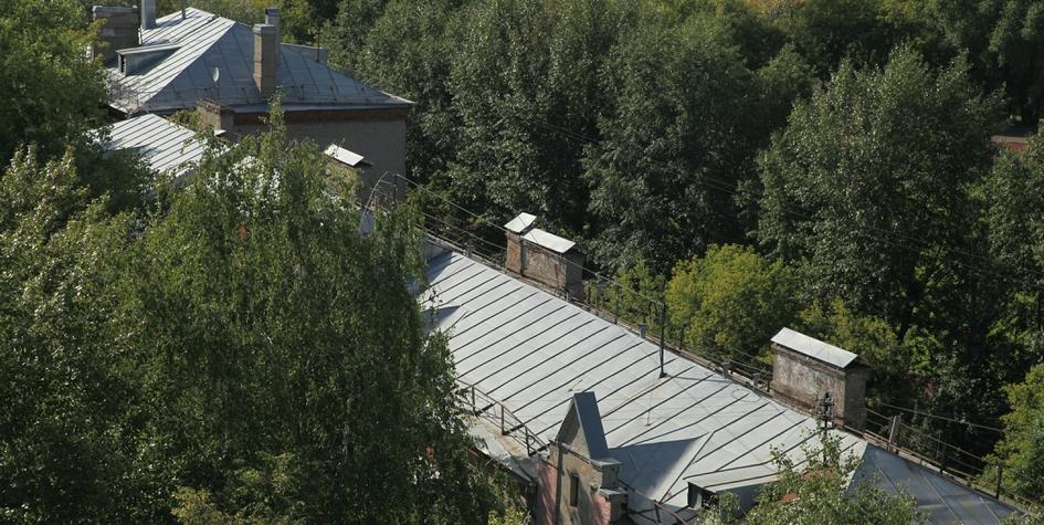 Крыши хрущевок