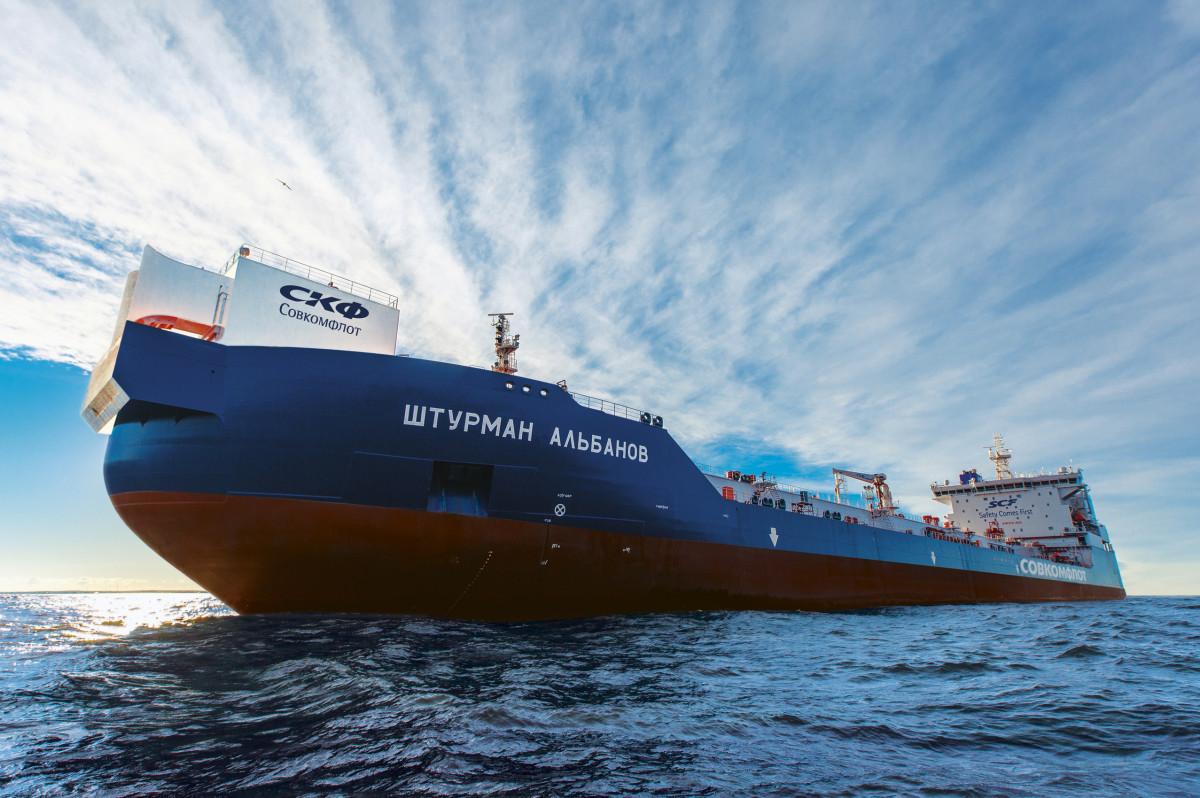 Арктический челночный танкер «Штурман Альбанов»