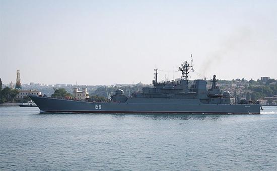 Большой десантный корабль проекта 775. Архивное фото
