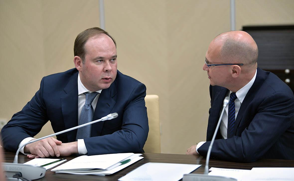 Антон Вайно и Сергей Кириенко