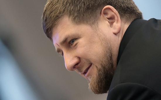 Глава Чечни РамзанКадыров