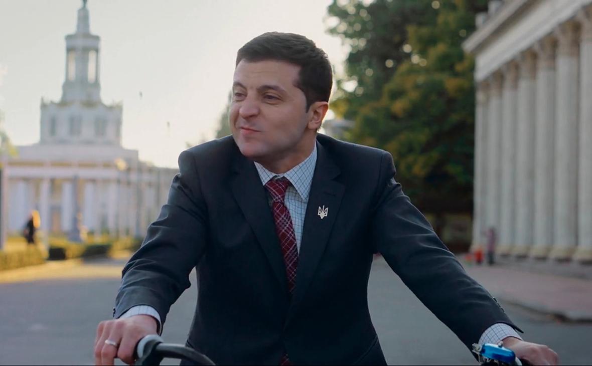 Кадр из сериала «Слуга народа»