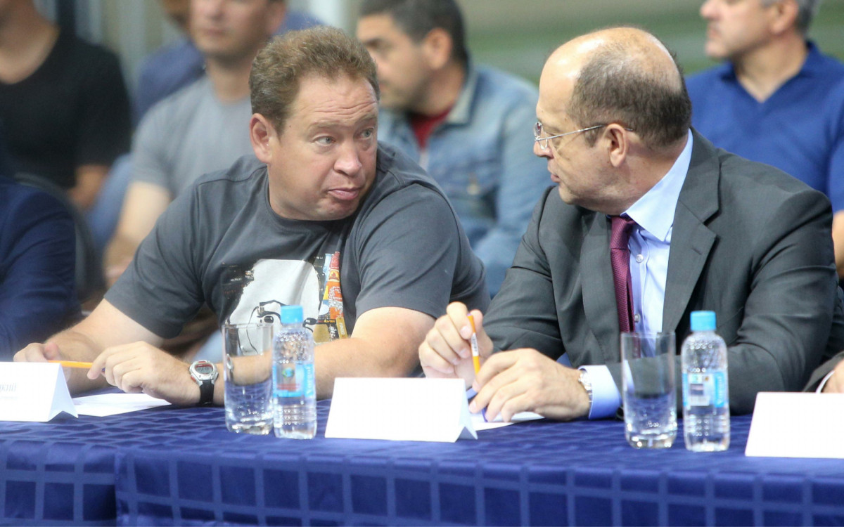 Фото: Леонид Слуцкий и Сергей Прядкин (Фото: Global Look Press)