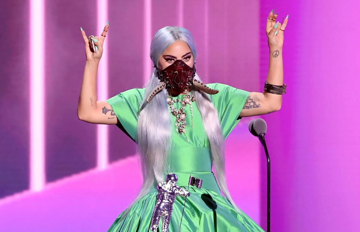 Леди Гагана церемонии вручения премии MTV Video Music Awards