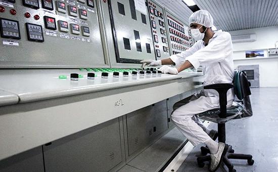 На производстве по переработке урана в Иране