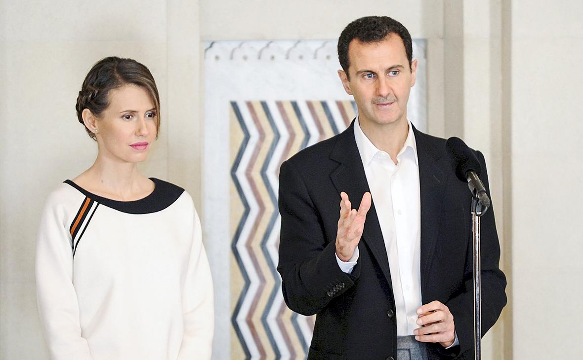 Асма аль-Асад иБашар Асад