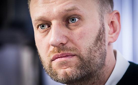 Основатель Фонда борьбы скоррупцией Алексей Навальный
