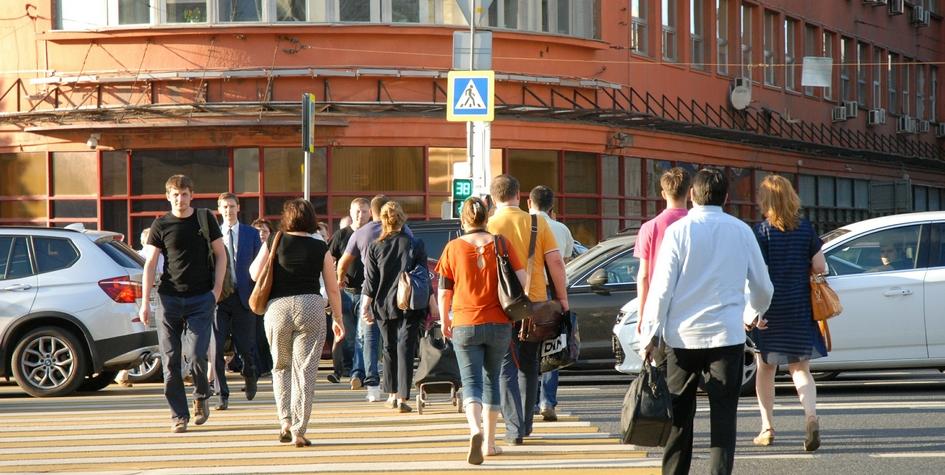 На улице вМоскве