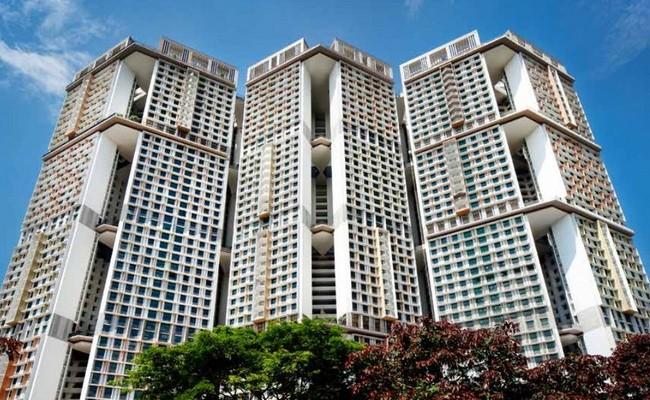 Сингапурский небоскреб SkyVille@Dawson, один изфиналистов конкурса налучшее высотное здание вмире
