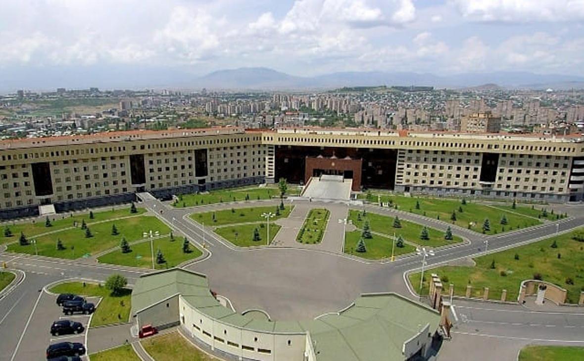 Здание Министерства обороны Армении