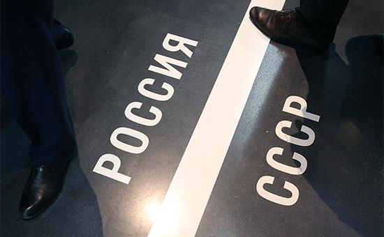 Экспозиция в «Президентском центре имени Бориса Ельцина» (Ельцин-центре) в Екатеринбурге