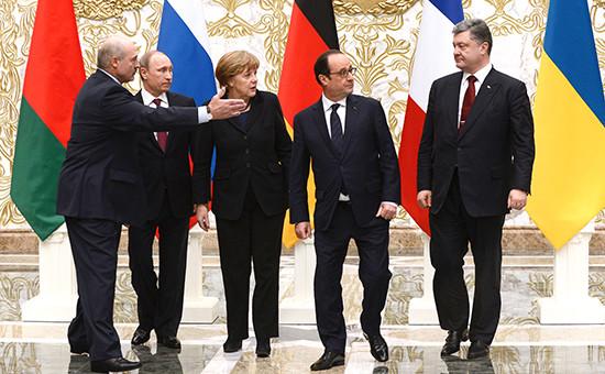 Встреча лидеров «нормандской четверки» в Минске