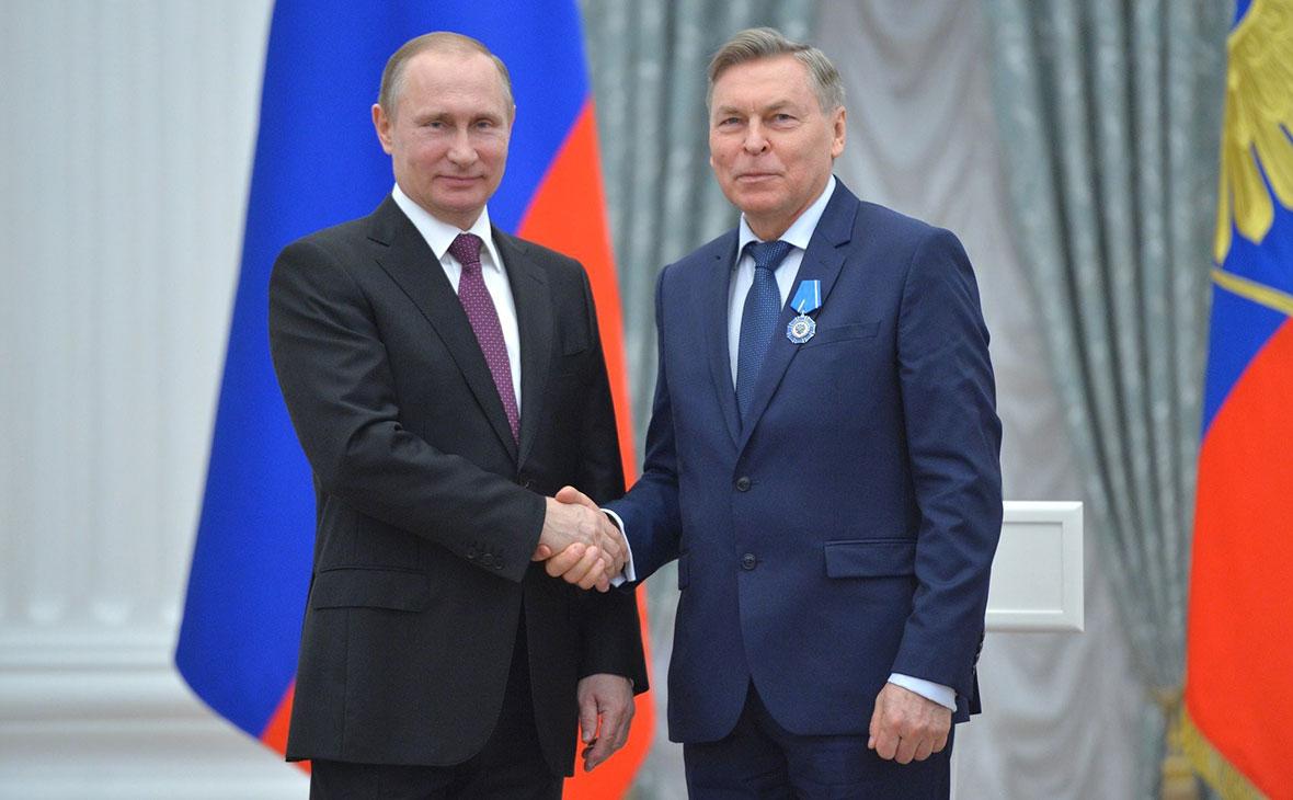 Владимир Путин иВладимир Филиппов