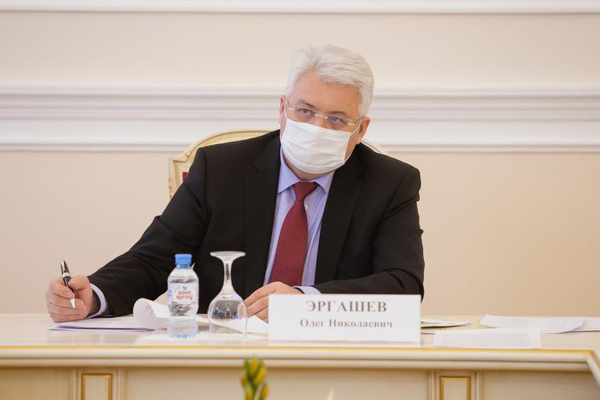 Вице-губернатор Петербурга Олег Эргашев