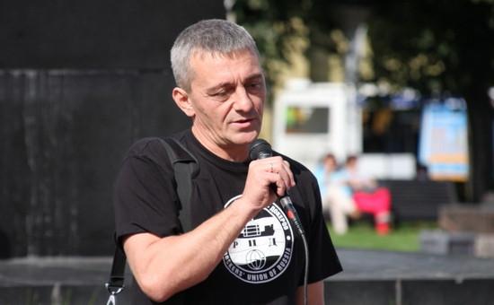 Анзор Ломтадзе, глава Российского профсоюза докеров