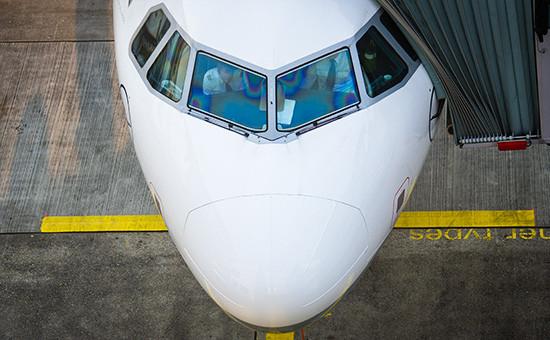 Кабина самолета Airbus A320