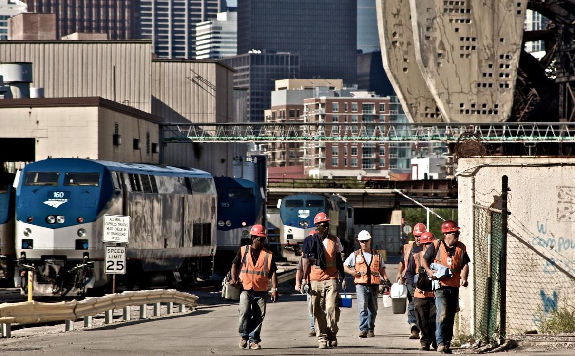 Рабочие в Чикаго