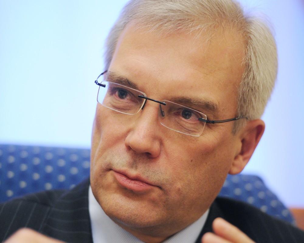 Постпред России при НАТО Александр Грушко