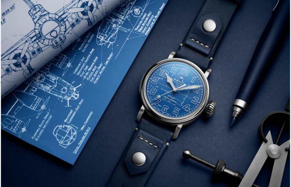 Хронограф Pilot Type 20 Blueprint, Zenith