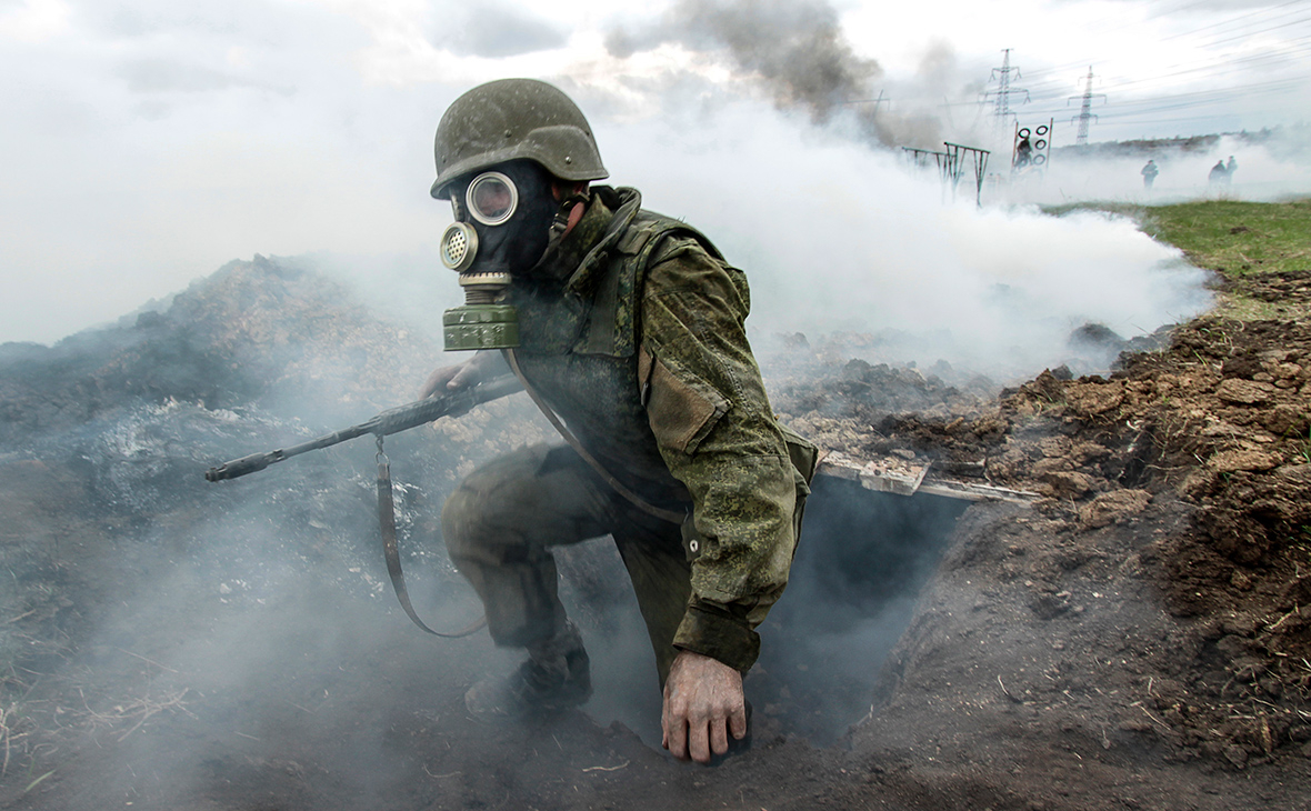 Боец спецназа ДНР