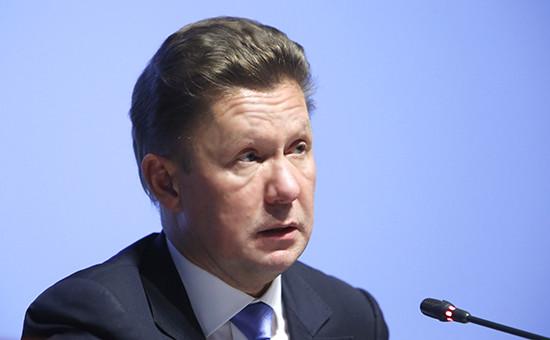 Глава «Газпрома» Алексей Миллер
