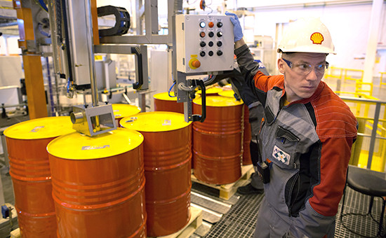 Производство смазочных материалов Shell
