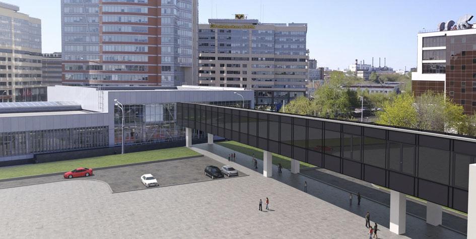 Проект ТПУ рядом с парком развлечений