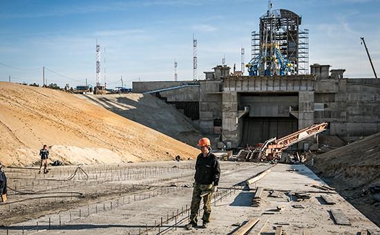 Строительство космодрома Восточный. Июнь 2015 года