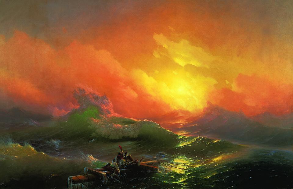 И.К.Айвазовский. «Девятый вал», 1850 г.