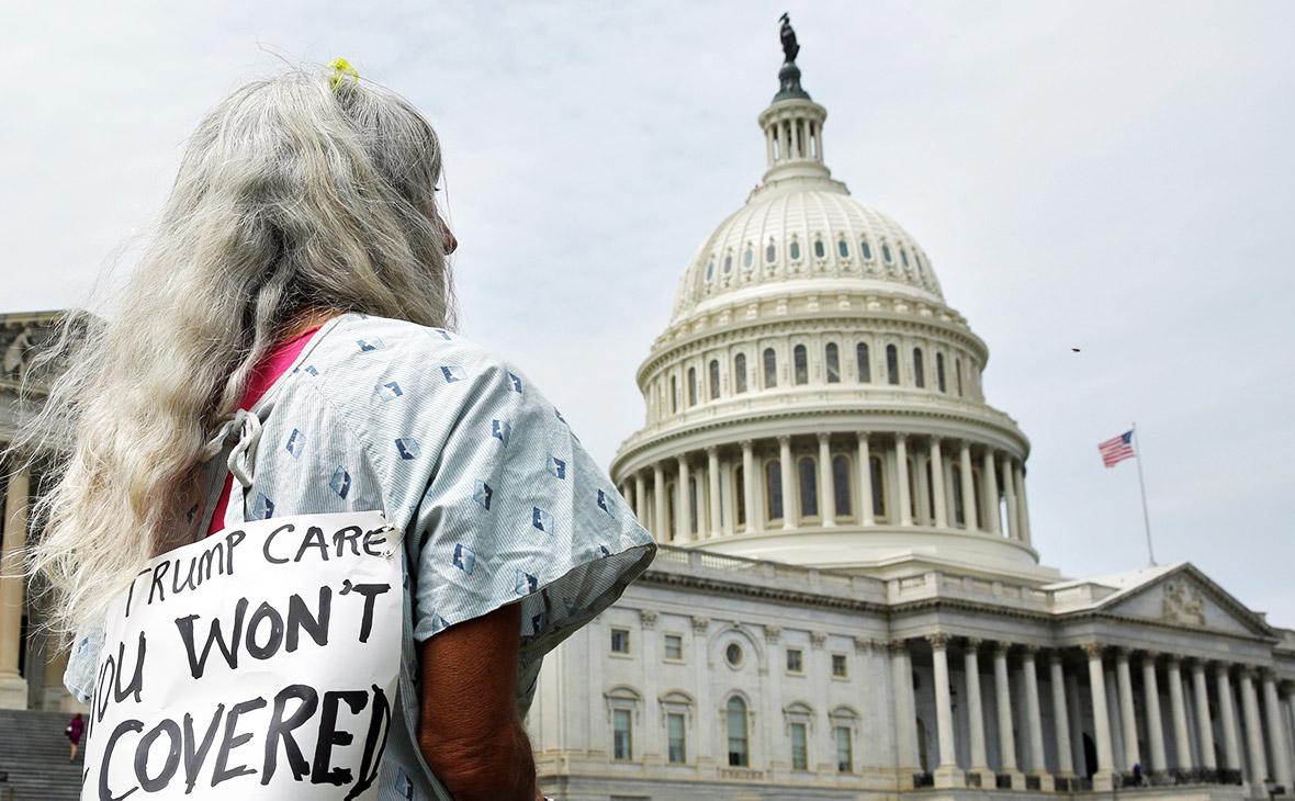 Акция противреформы здравоохранения