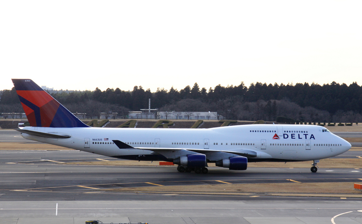 Самолет авиакомпании Delta Air Lines