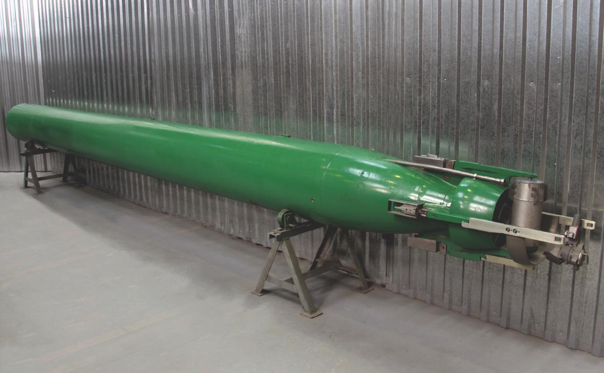 Торпеда производства корпорации «Тактическое ракетное вооружение»