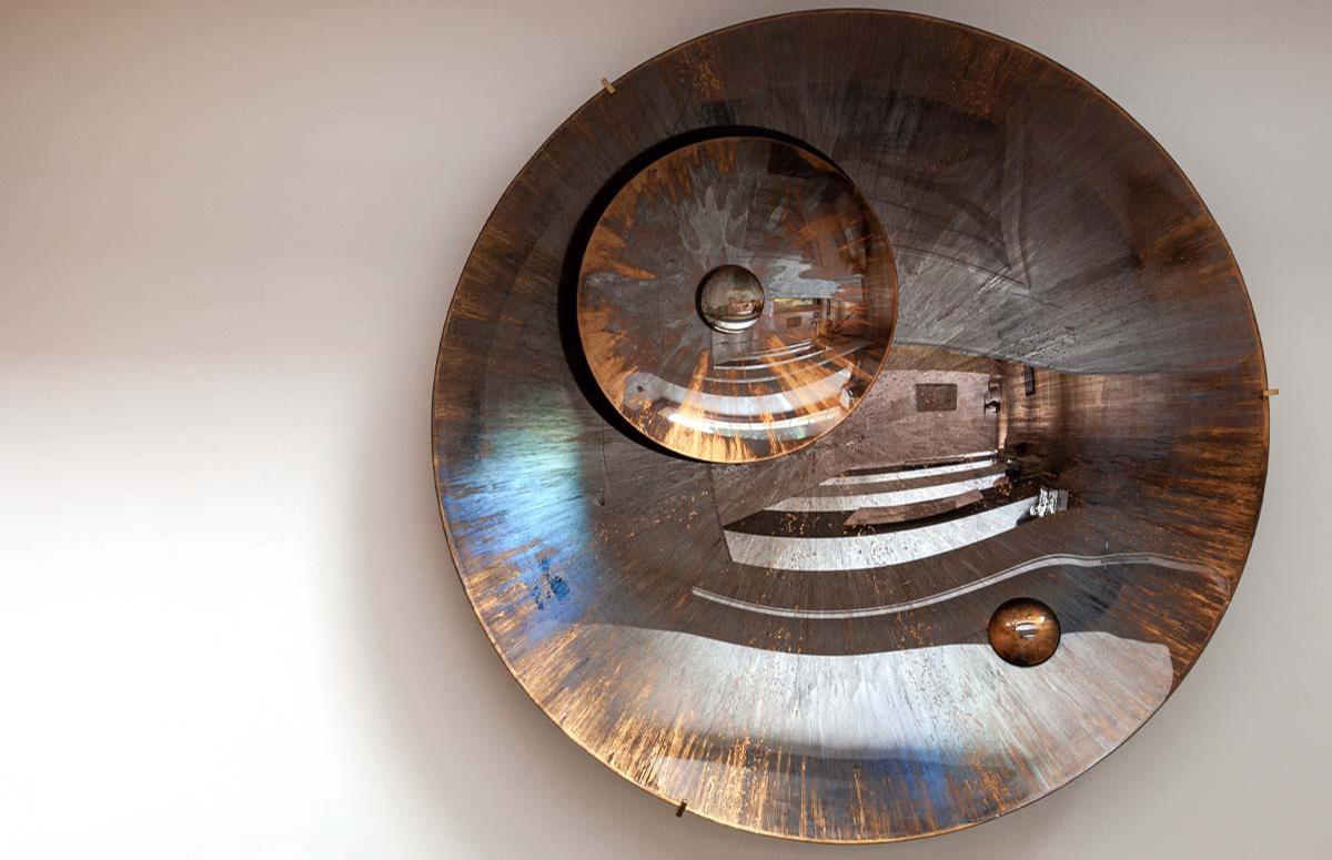 Арт-зеркало, Кристоф Ганьон, Booroom Gallery. Международная ярмарка современного искусства Cosmoscow 2020