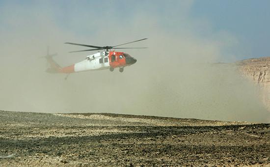 Вертолет спасательных служб Египта