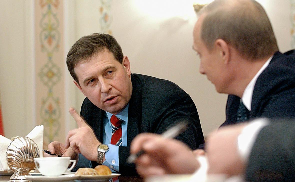 Андрей Илларионов и Владимир Путин