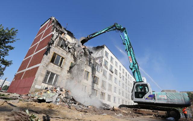 Снос пятиэтажных домов