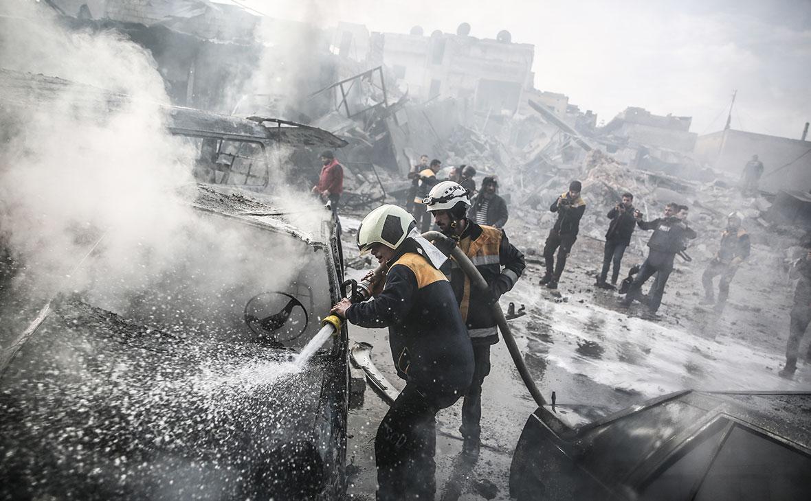 Последствия военной операции16 января в провинции Идлиб